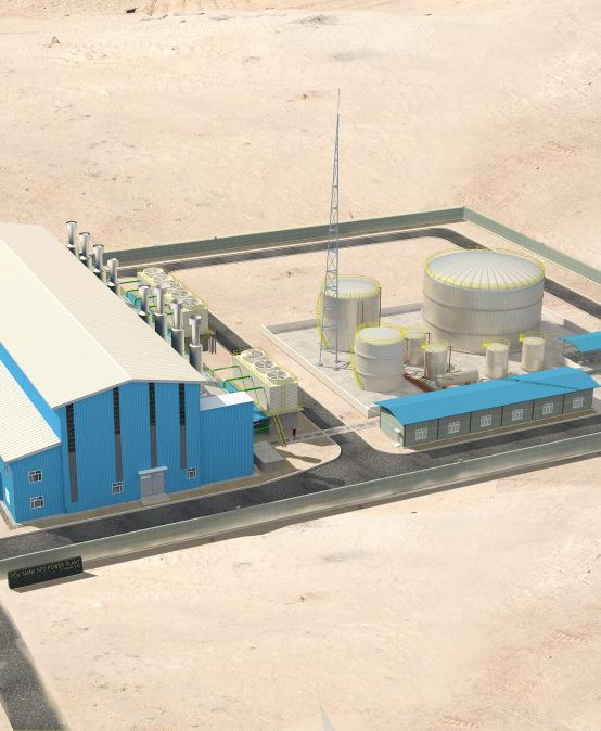 60MW PDV HFO Power Plant In Karbala of Iraq